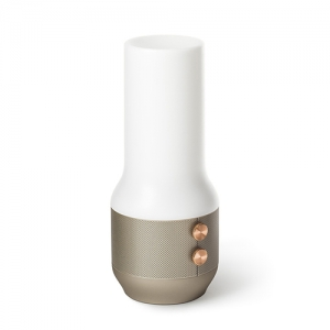 [LEXON]TERRACE BT LED light speaker - light gold -LA106MD