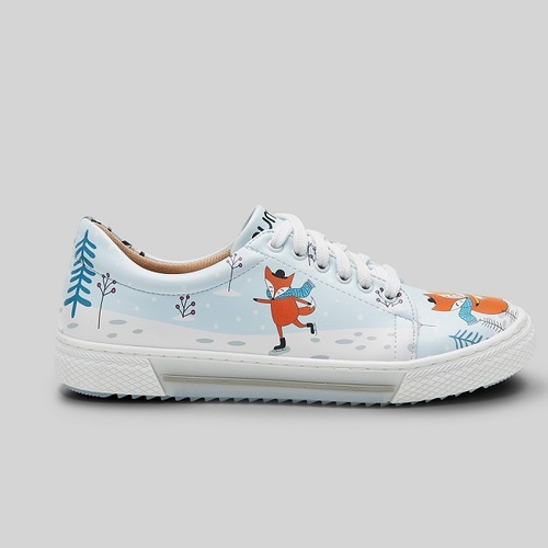 [mumka] The Wild and Free Fox Sneakers